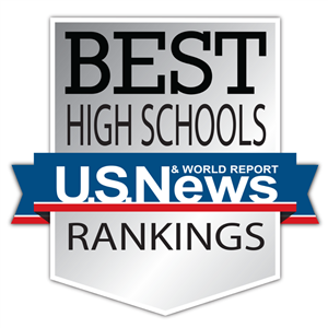 The U.S. News and World Report Best High Schools Logo