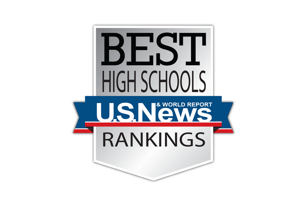 The U.S. News and World Report Best High School Rankings Logo