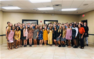 National Business Honor Society Inductees