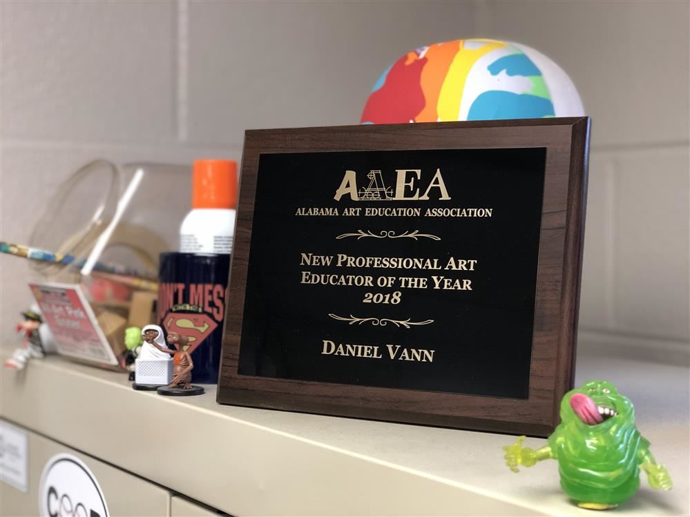 Mr. Charles Vann Wins Art Award