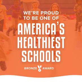 Healthy School Alliance Bronze Award