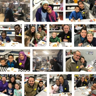SMES Pancakes with Parents
