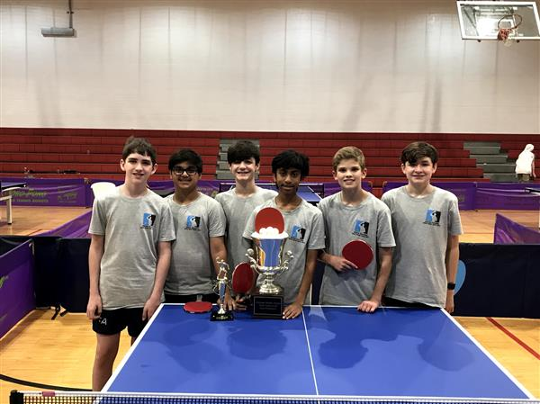 Table Tennis Teams Sweep Championships