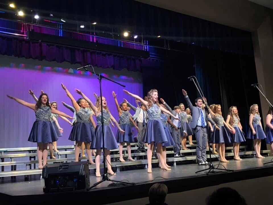 Code Blue Show Choir wins at Oak Mountain Invitational