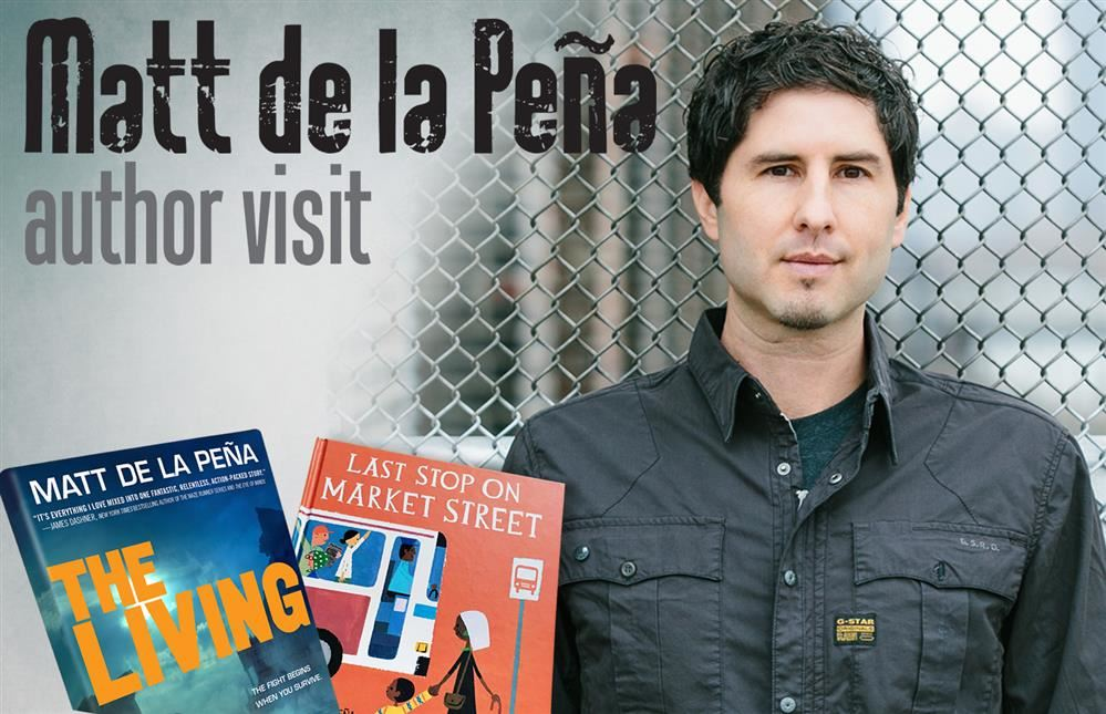 Matt de la Pena comes to Berry
