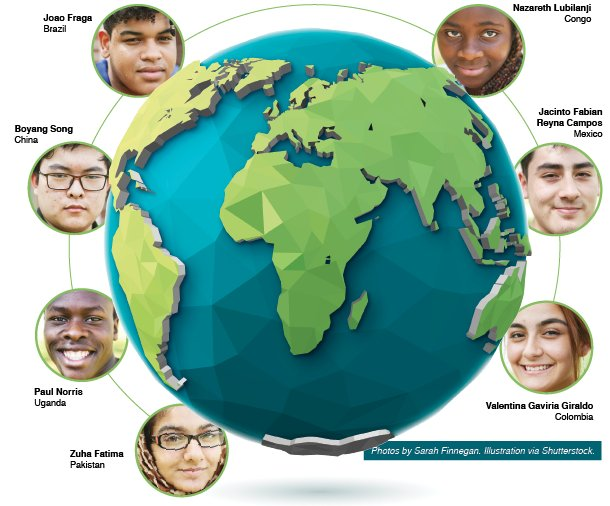 Hoover Sun Highlights Former Bumpus Students' International Diversity