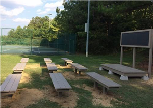 Stupendous Local Boy Scout Builds New Outdoor Classroom For Bgis Students Uwap Interior Chair Design Uwaporg