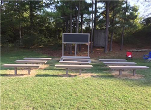 Swell Local Boy Scout Builds New Outdoor Classroom For Bgis Students Uwap Interior Chair Design Uwaporg