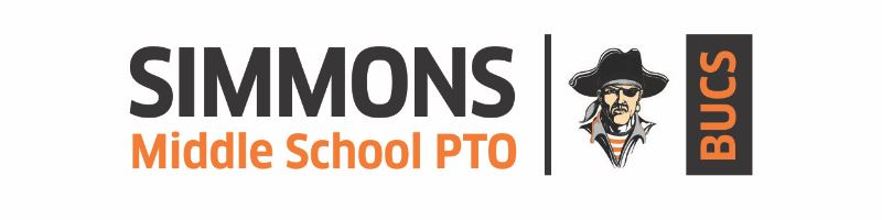 This is a picture of the Simmons PTO logo.