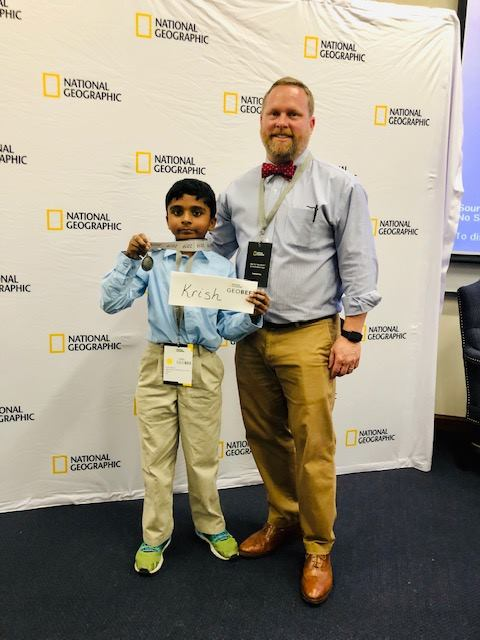 Deer Valley 4th Grader Wins State Geography Bee