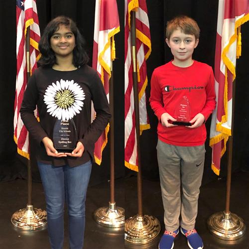 DISTRICT SPELLING BEE WINNERS