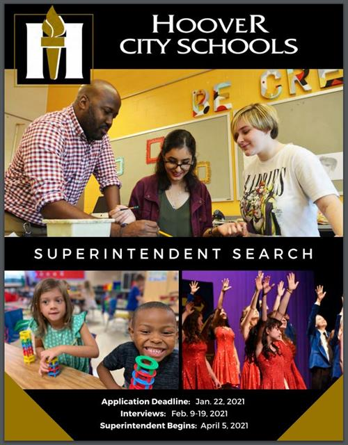 Cover photo of Hoover Superintendent Search Brochure