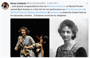Tweet from Henry Cobbold