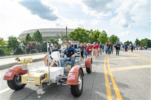 Taylor Gammon Downtown Huntsville Polaris Lunar Rover Parade
