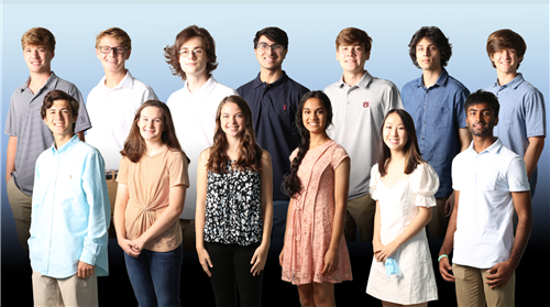 Spain Park HS National Merit Semifinalists for 2020